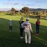 Golf is most certainly Family friendly. The handicapping system different levels and ages into account.