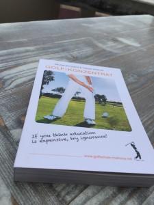 golf konzentrat buch libro book