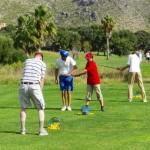 Schnuppern Golfkurs im Urlaub