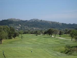 loch 3 golfplatz