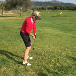 Practica del golf – distinguir entre aprender y aplicar