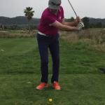 Golf Training soll nicht immer einfach sein