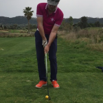 Im Golf Training versuchen wir Dinge, die auch auf dem Platz vorkommen.