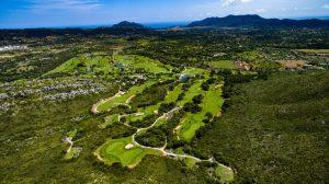 Drone Golfplatz - klein
