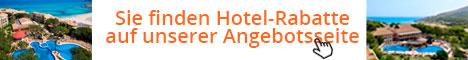 Sie finden Hotel-Rabatte auf unserer Angebotsseite
