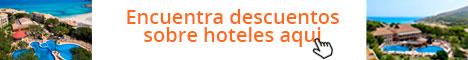 Encuentra descuentos sobre hoteles aqui