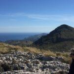 (Deutsch) Blick über den Puig de Porrassar und Cap des Freu bei Cala Mesquida