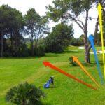 Spiel-Tipp Golfplatz: Aus dem Rough quer zum Fairway spielen